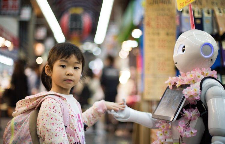 El robot, uno más en la familia