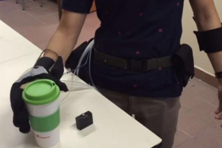 Soft robotic glove