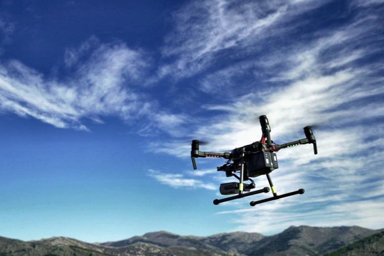 FOREST FIRE DETECTION DRONE