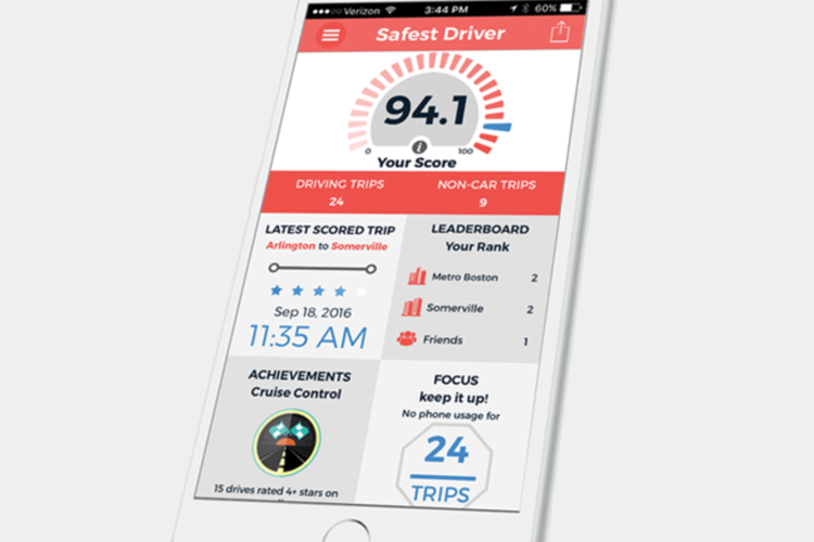 BOSTON'S SAFEST DRIVER